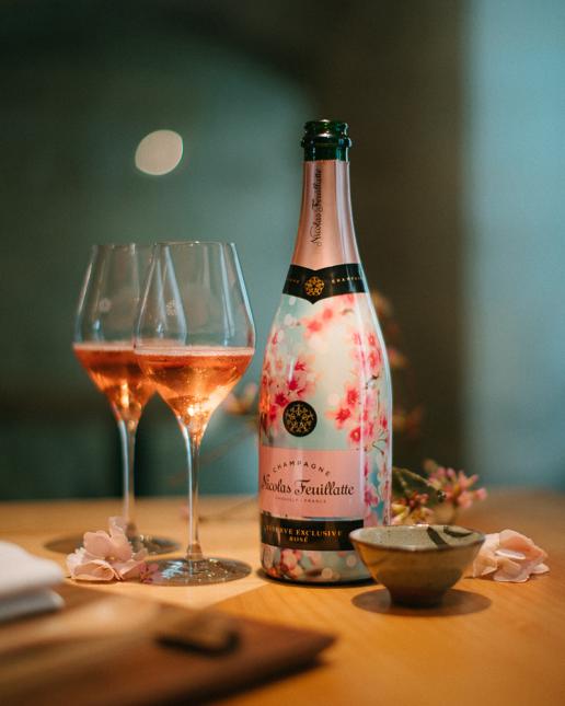 Nicolas Feuillatte Réserve Exclusive Rosé - Edition Limitée Premier Rosé de Printemps - Restaurant japonais